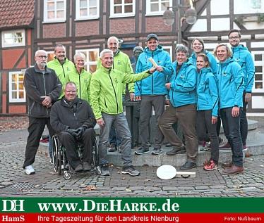 ...der Spargellauf in Nienburg©Die Harke