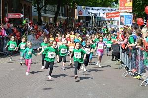 Start beim Schülerlauf 2014